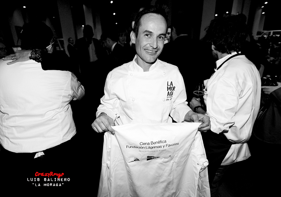 Crazy Rouge+4 Starlite Charity Dinner 2013+Luis Salinero