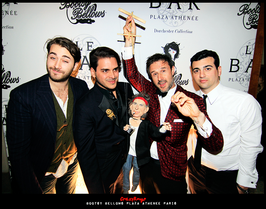 CrazyRouge+Bootsy Bellows 2+Darren Dzienciol+David Arquette+Markus Molinari