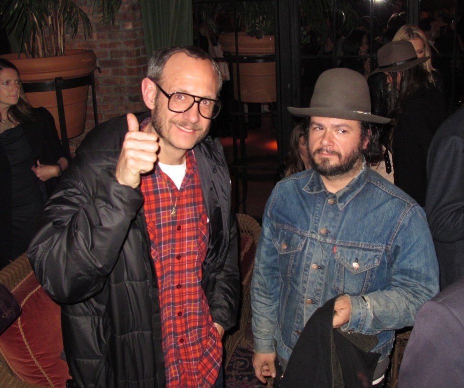 Terry Richardson+Carlos Quirarte+THE PLACE BEYOND THE PINES+premiere