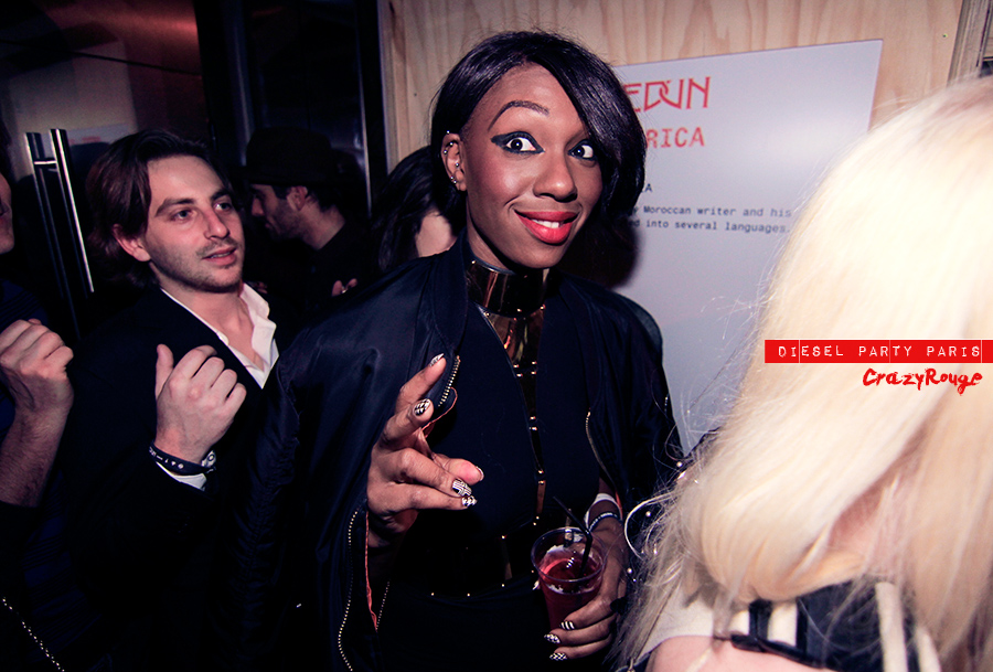005 CrazyRouge, AlexandraAguilera, Diesel, Diesel+Edun, project, AfricaStudio, Paris, FashionWeek, itgirl, topmodel, artist, party, lifestyle, CrazyRougelife, redhotsociety