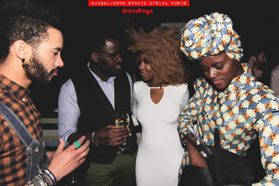 011 TaaliM, EbonyBones, CrazyRouge, AlexandraAguilera, Diesel, Diesel+Edun, project, AfricaStudio, Paris, FashionWeek, itgirl, topmodel, artist, party, lifestyle, CrazyRougelife, redhotsociety