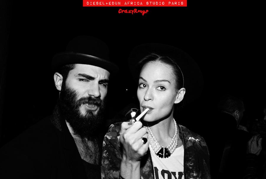 030 CrazyRouge, AlexandraAguilera, Diesel, Diesel+Edun, project, AfricaStudio, Paris, FashionWeek, itgirl, topmodel, artist, party, lifestyle, CrazyRougelife, redhotsociety