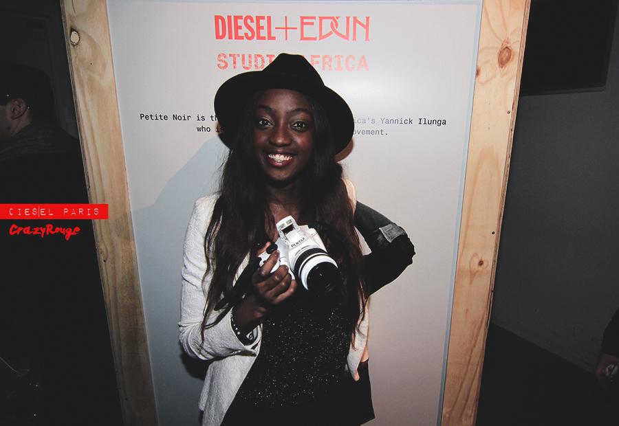 048 CrazyRouge, Alexandra Aguilera, Diesel, Diesel+Edun, project, AfricaStudio, Paris, FashionWeek, itgirl, topmodel, artist, party, lifestyle, CrazyRougelife, redhotsociety