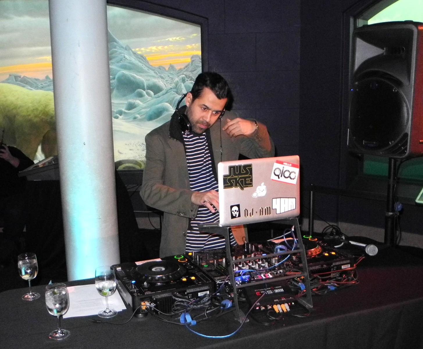 DJ Jus-Ske Under the Sea American Museum of Natural History