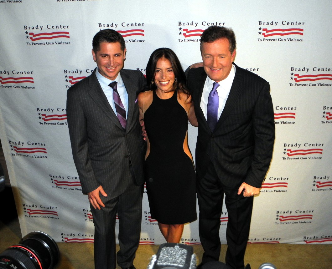 Laura Wasser, Piers Morgan, Brady Center to Prevent Gun Violence