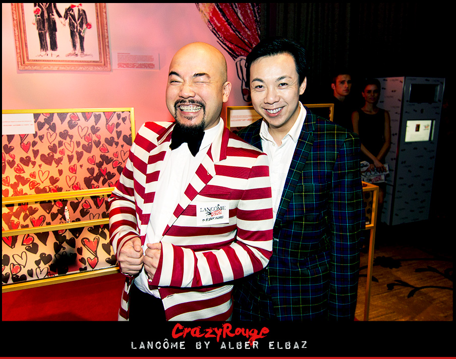 2.	Wyman Wong, Francis Cheng, CrazyRouge, CrazyRougelife, Lancôme show x Alber Elbaz, Lancôme, Make-up, CrazyRougeHongKong