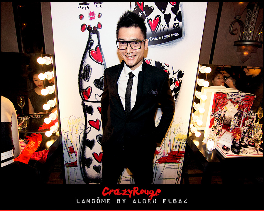 4.	Jimmy Yu, CrazyRouge, CrazyRougelife, Lancôme show x Alber Elbaz, Lancôme, Make-up, CrazyRougeHongKong
