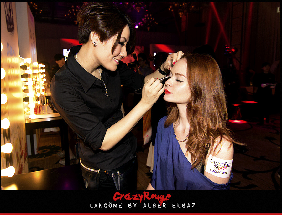 7.	Alexandra Aguilera, CrazyRouge, CrazyRougelife, Lancôme show x Alber Elbaz, Lancôme, Make-up, CrazyRougeHongKong