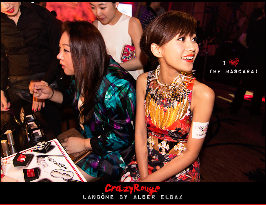 8.	Miki Yeung, CrazyRouge, CrazyRougelife, Lancôme show x Alber Elbaz, Lancôme, Make-up, CrazyRougeHongKong