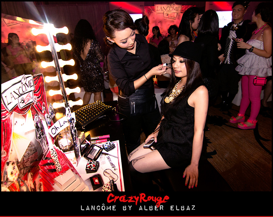 9.	CrazyRouge, CrazyRougelife, Lancôme show x Alber Elbaz, Lancôme, Make-up, CrazyRougeHongKong