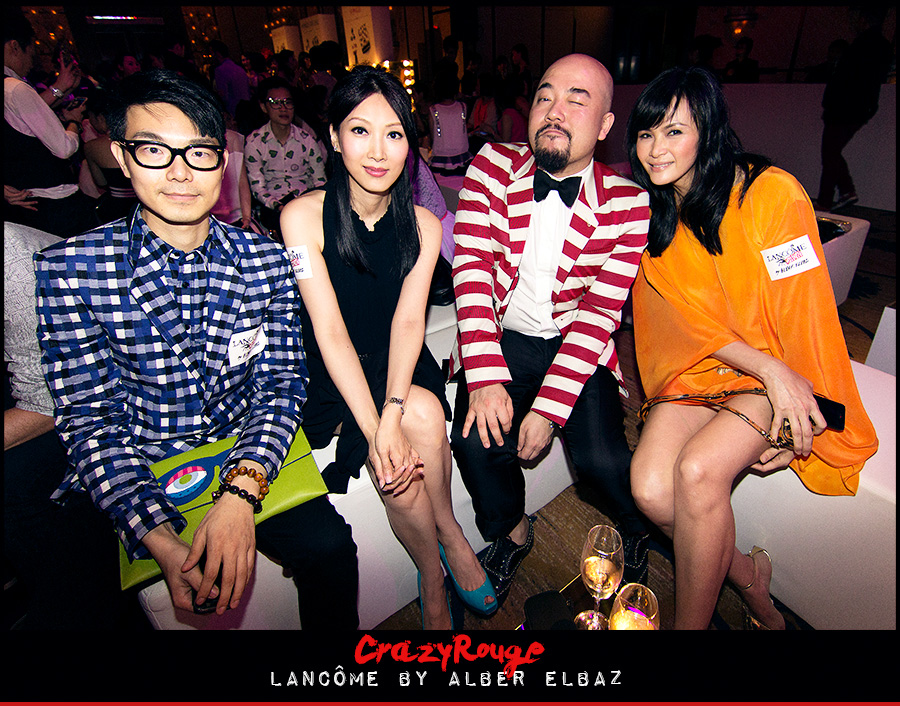 11.	Ricky Kwok, Anna Yan, Wyman Wong, Janet Ma, CrazyRouge, CrazyRougelife, Lancôme show x Alber Elbaz, Lancôme, Make-up, CrazyRougeHongKong