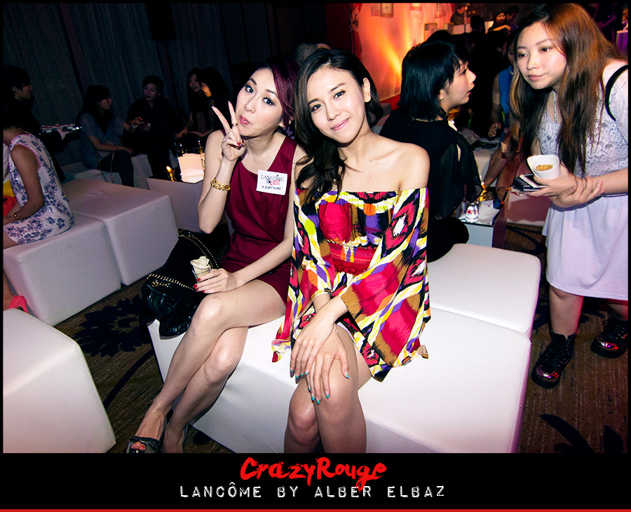 12.	Jacqueline Ch'ng, Ava Liu, CrazyRouge, CrazyRougelife, Lancôme show x Alber Elbaz, Lancôme, Make-up, CrazyRougeHongKong