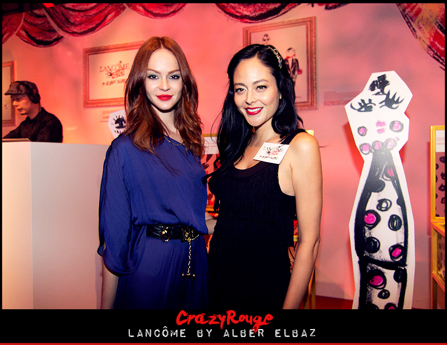 17.	Alexandra Aguilera, CrazyRouge, CrazyRougelife, Lancôme show x Alber Elbaz, Lancôme, Make-up, CrazyRougeHongKong