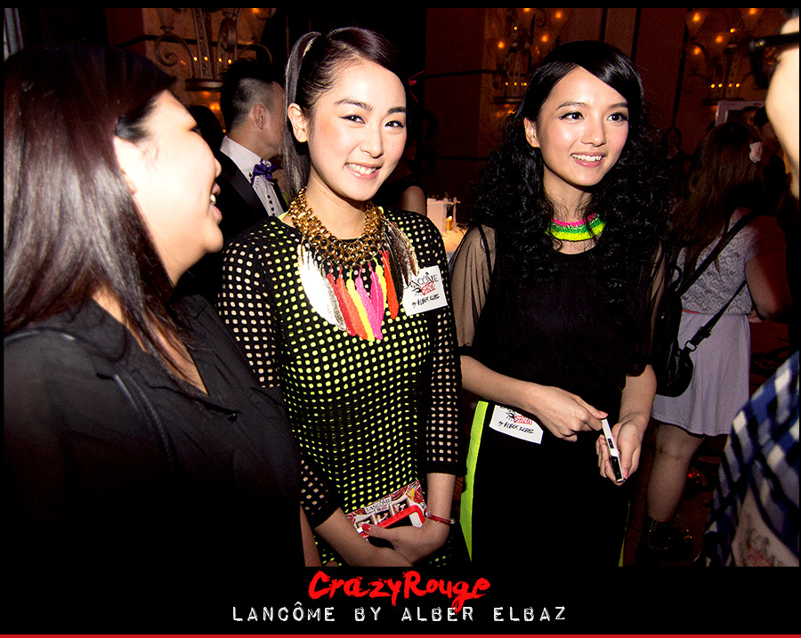 19.	Evelyn Choi, CrazyRouge, CrazyRougelife, Lancôme show x Alber Elbaz, Lancôme, Make-up, CrazyRougeHongKong