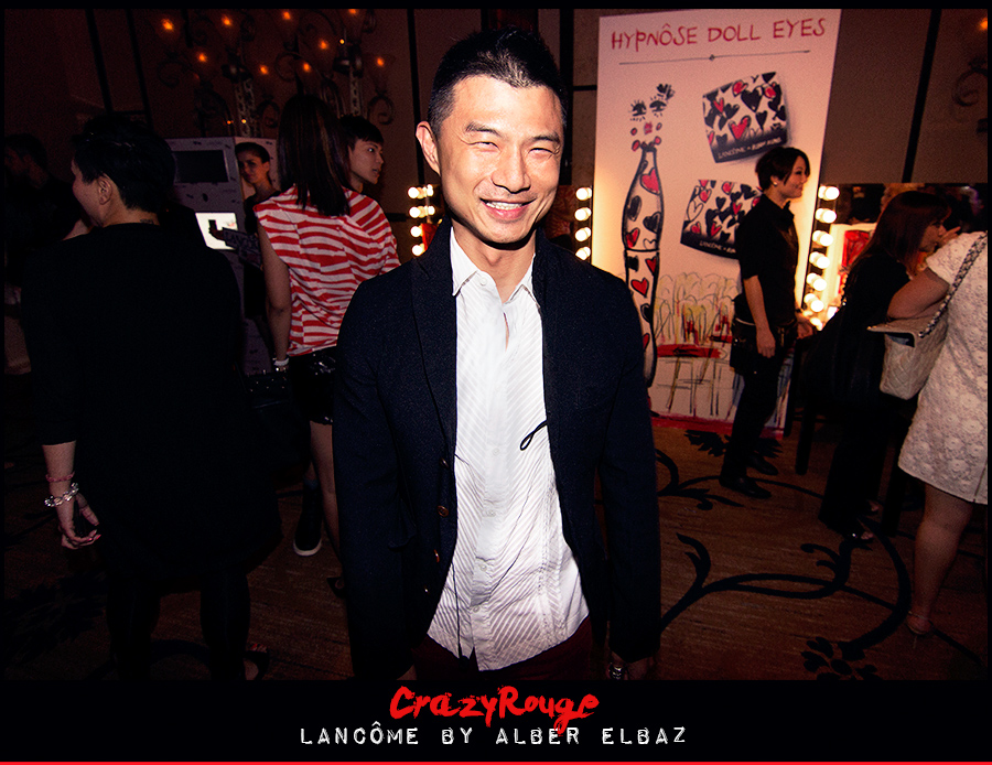 21.	Walter Haw, CrazyRouge, CrazyRougelife, Lancôme show x Alber Elbaz, Lancôme, Make-up, CrazyRougeHongKong