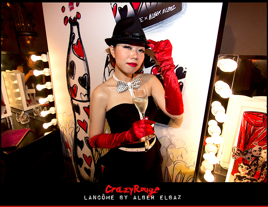 22.	CrazyRouge, CrazyRougelife, Lancôme show x Alber Elbaz, Lancôme, Make-up, CrazyRougeHongKong
