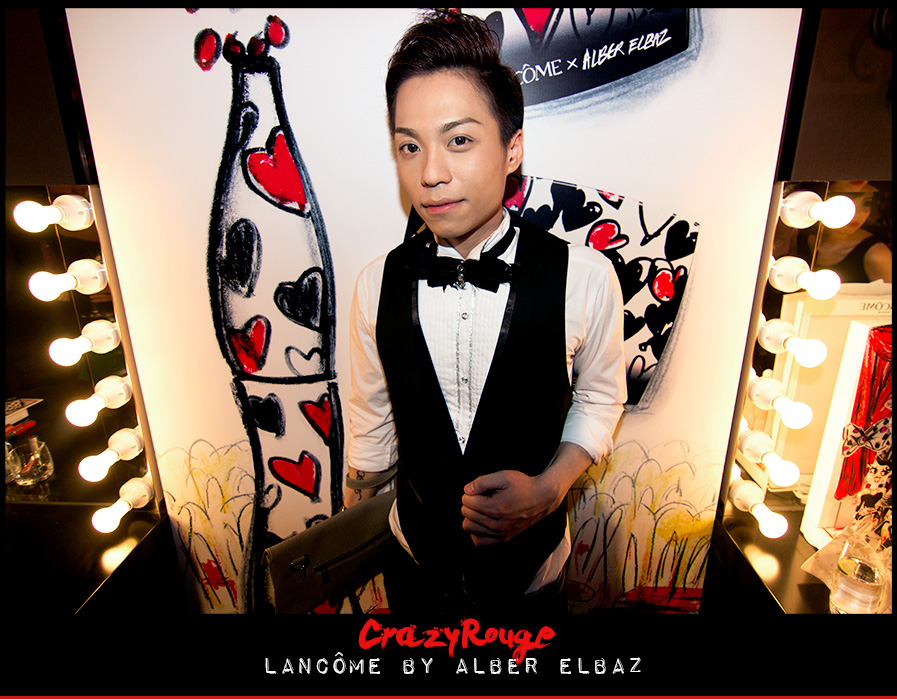 23.	CrazyRouge, CrazyRougelife, Lancôme show x Alber Elbaz, Lancôme, Make-up, CrazyRougeHongKong