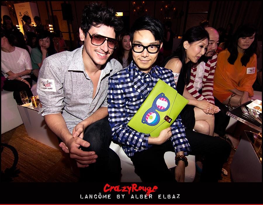 Ricky Kwok, Alberto Imperial, CrazyRouge, CrazyRougelife, Lancôme show x Alber Elbaz, Lancôme, Make-up, CrazyRougeHongKong