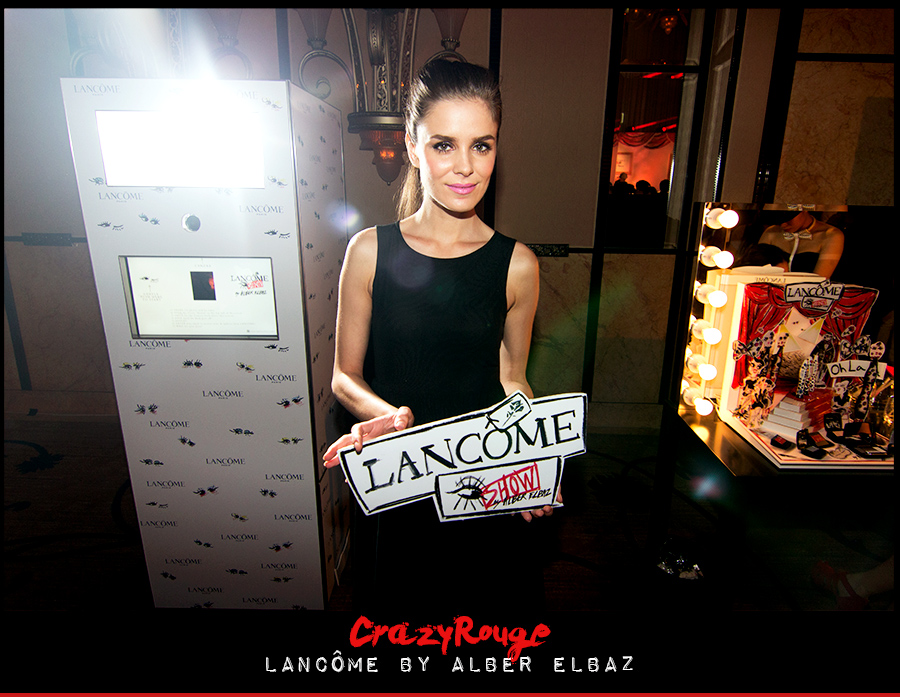 CrazyRouge, CrazyRougelife, Lancôme show x Alber Elbaz, Lancôme, Make-up, CrazyRougeHongKong