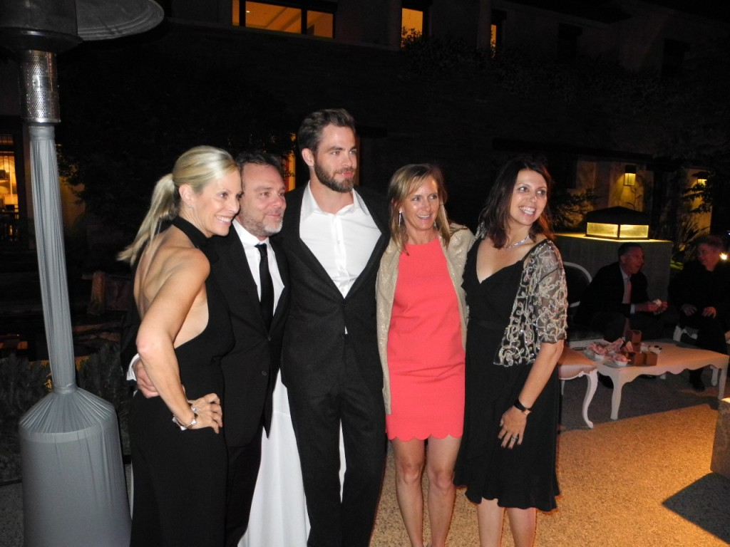 Chris Pine, Chrysalis Butterfly Ball 2013