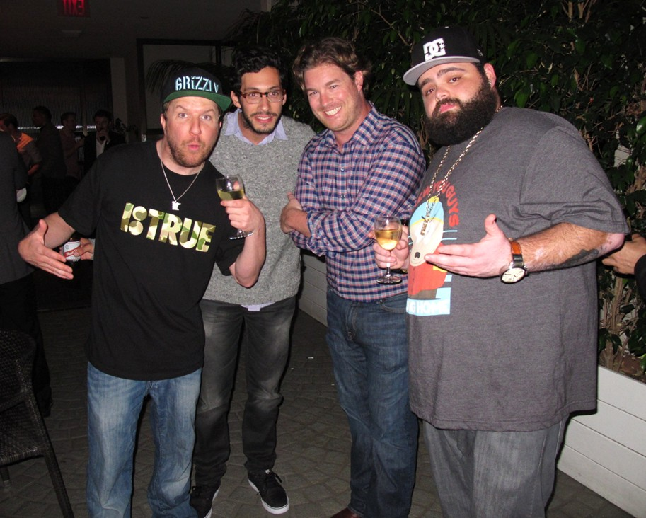 Nick Swardson, THIS IS THE END premiere party
