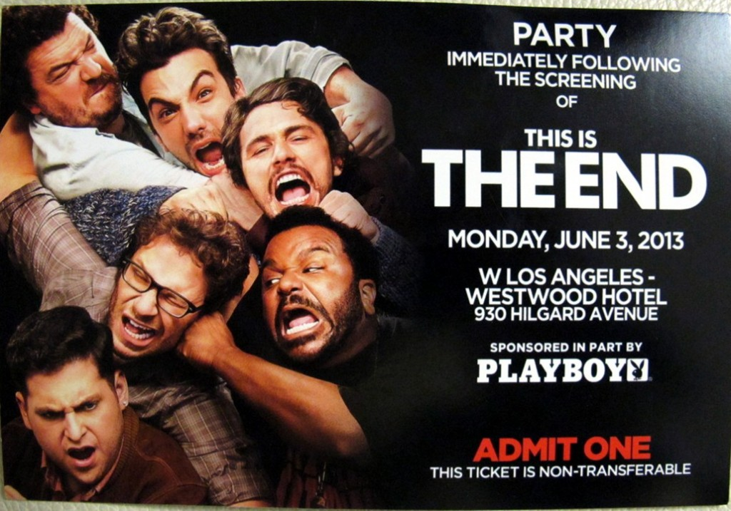 THIS IS THE END premiere party