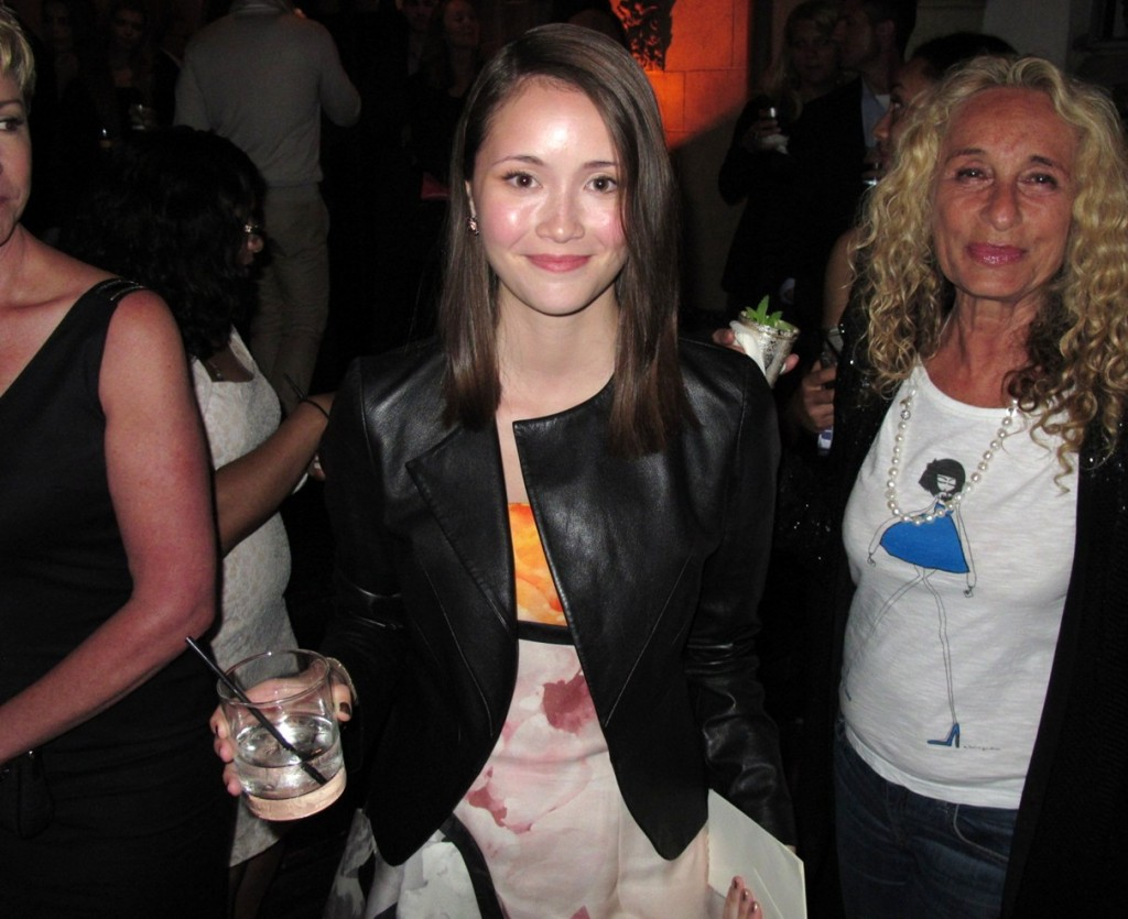 Katie Chang, The Bling Ring premiere after party