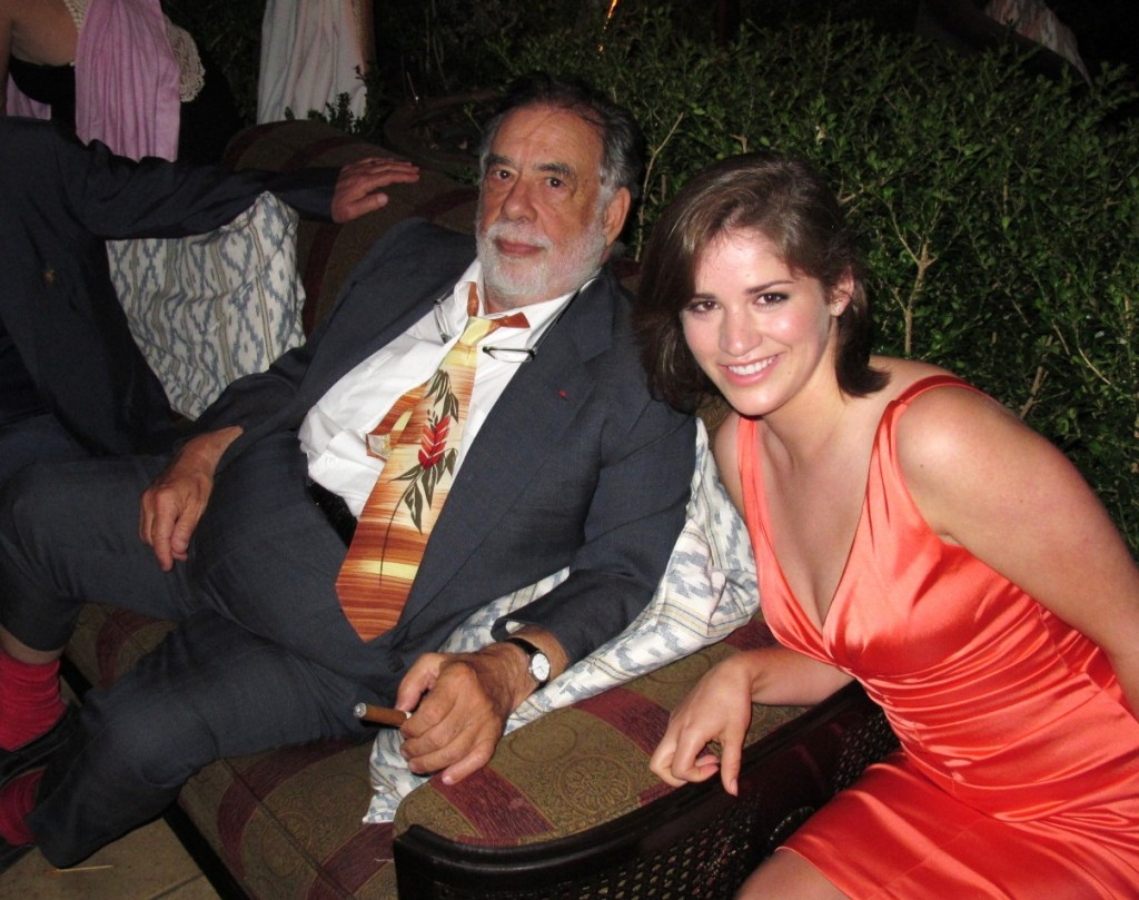 Francis Ford Coppola, The Bling Ring premiere after party
