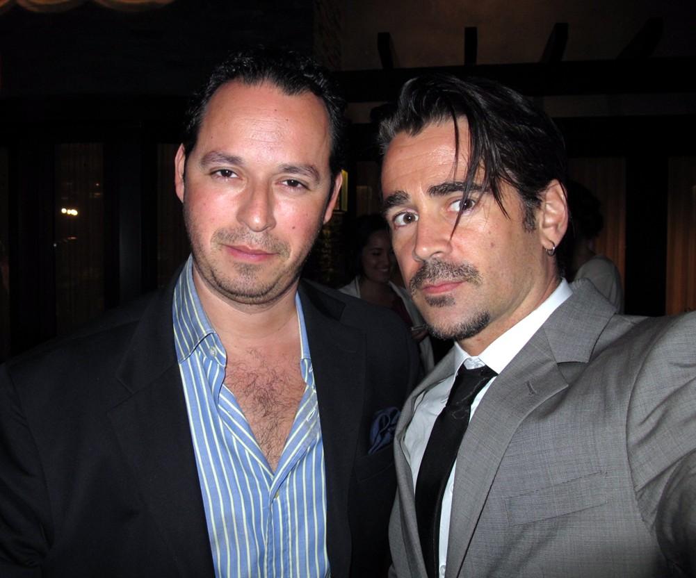 Ricardo Garcia, Colin Farrell, Chrysalis Butterfly Ball 2013