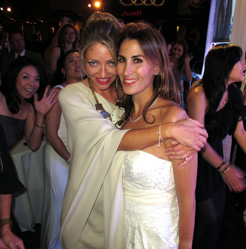 Rebecca Gayheart-Dane, Maryam Lieberman, Chrysalis Butterfly Ball 2013