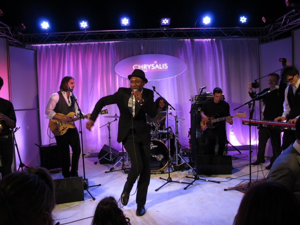 Aloe Blacc, Chrysalis Butterfly Ball 2013