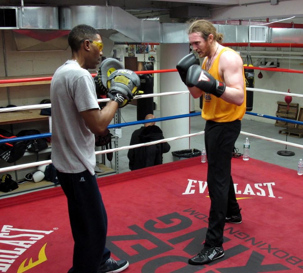 James Huddleston restaurateur boxer golden gloves Pravda