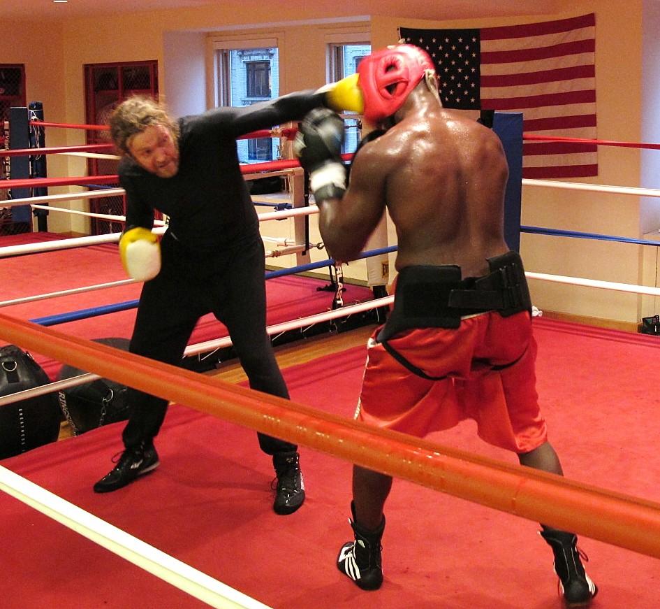 James Huddleston restaurateur boxer golden gloves Pravda Soho