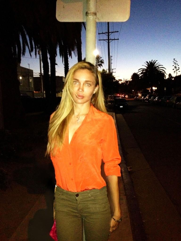 Natalie Gal Natasha Galkina Venice Beach