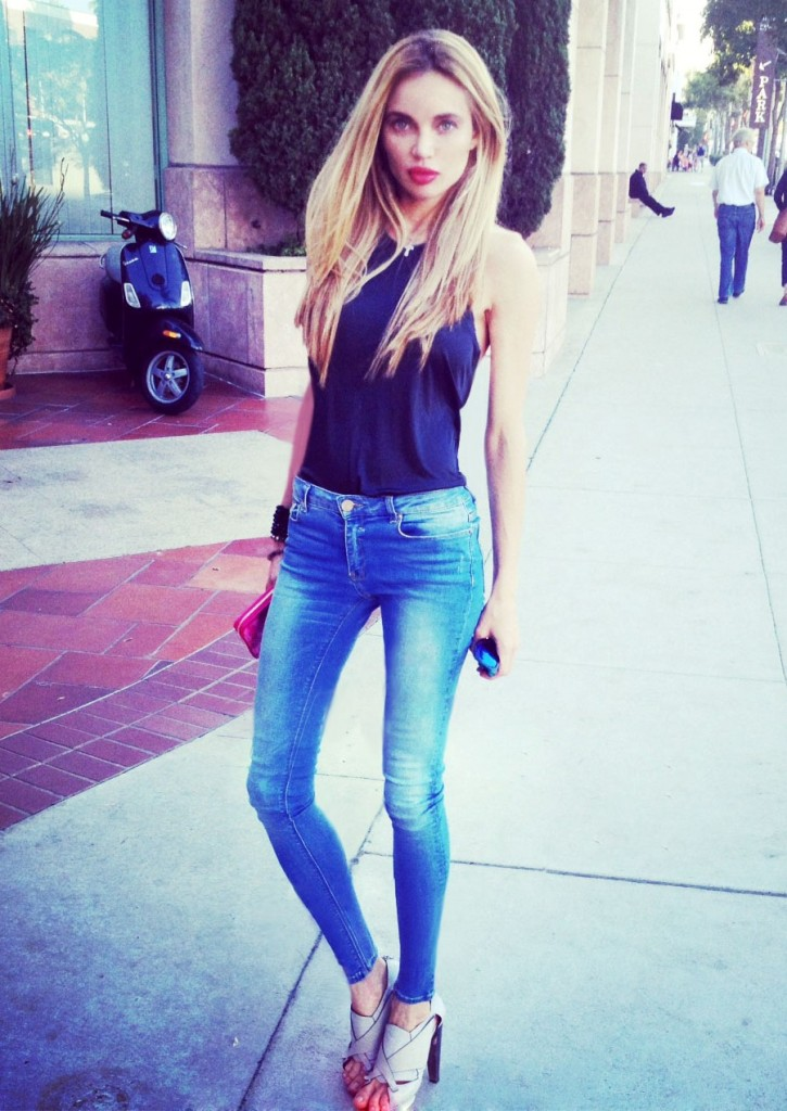 Natalie Gal Natasha Galkina Beverly Hills Style model