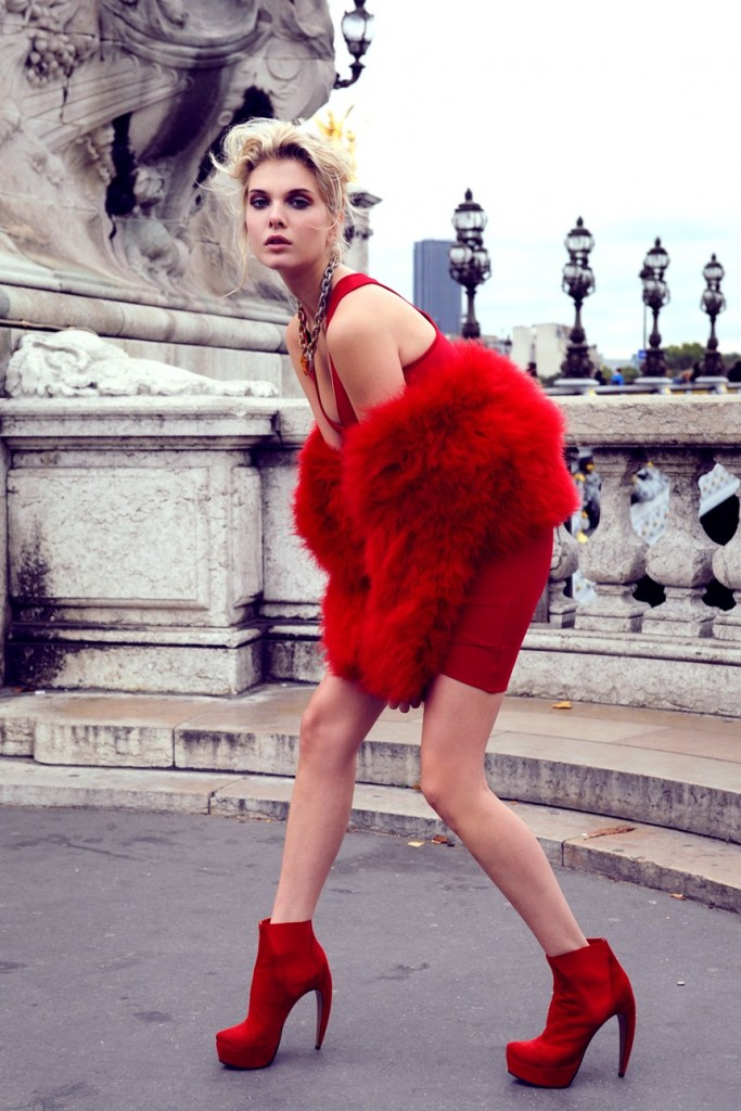 Alessandra Pozzi high fashion model Paris New York