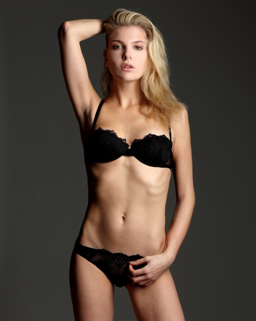 Alessandra Pozzi + lingerie