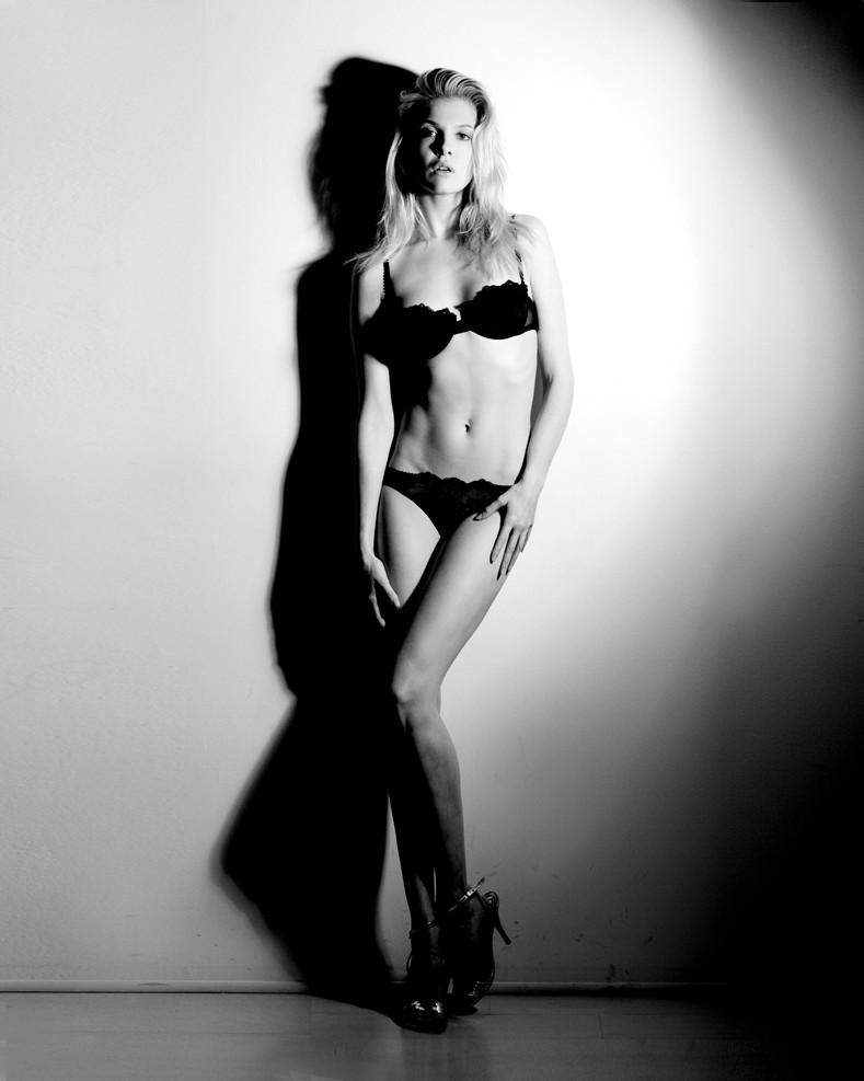 Alessandra Pozzi + polaroi + lingerie