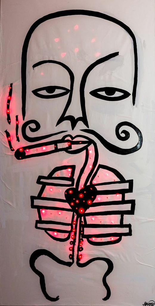 Harif Guzman The Smoker