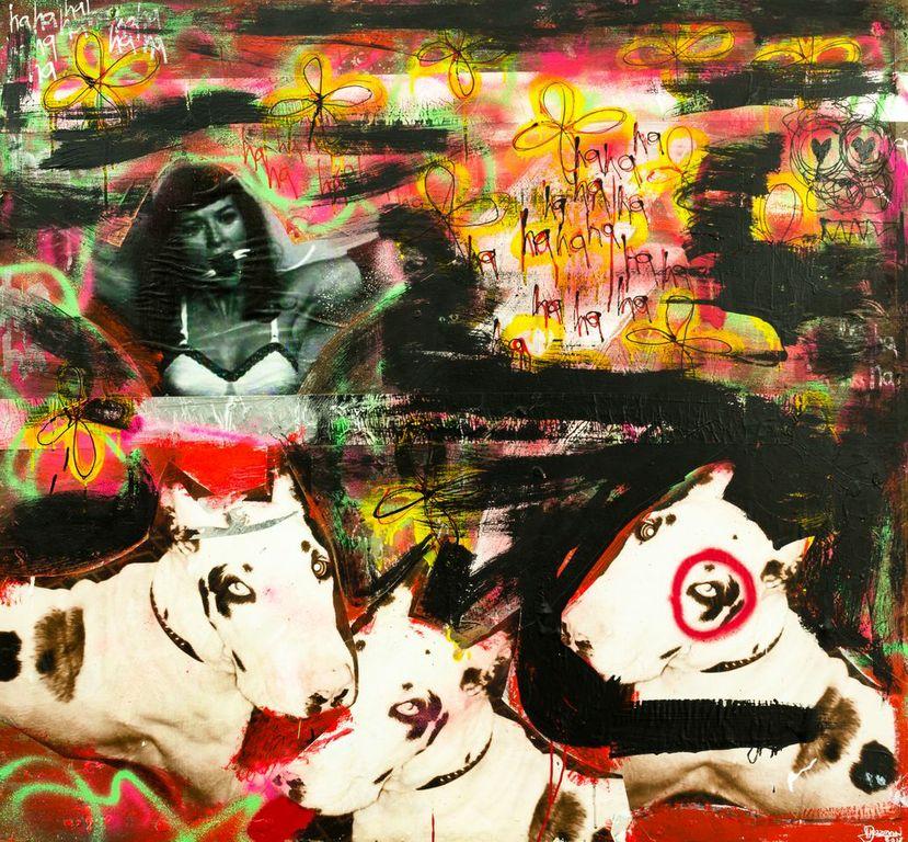 Harif Guzman art cows
