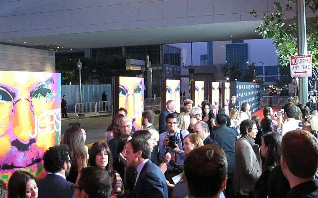 JOBS Premiere + LA + Ashton Kutcher