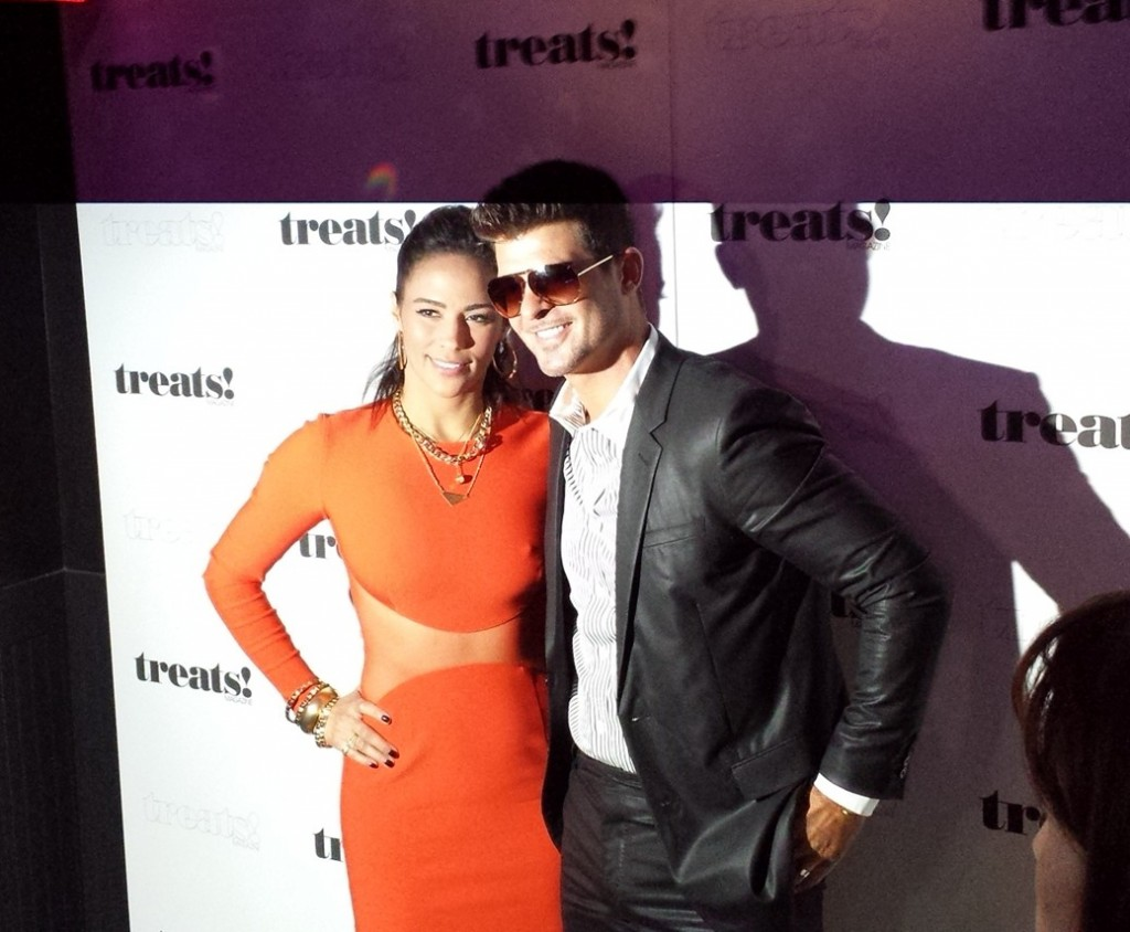 Robin Thicke + Treats! Magazine + New York