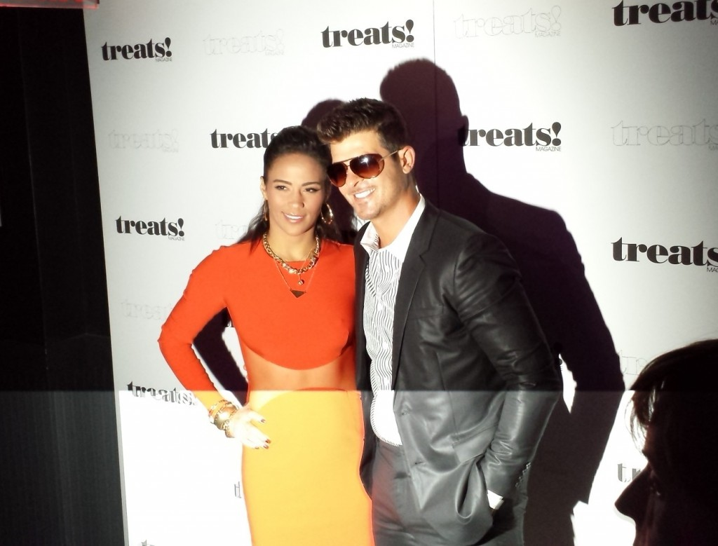 Robin Thicke + Treats! Magazine + Fashion Week + New York
