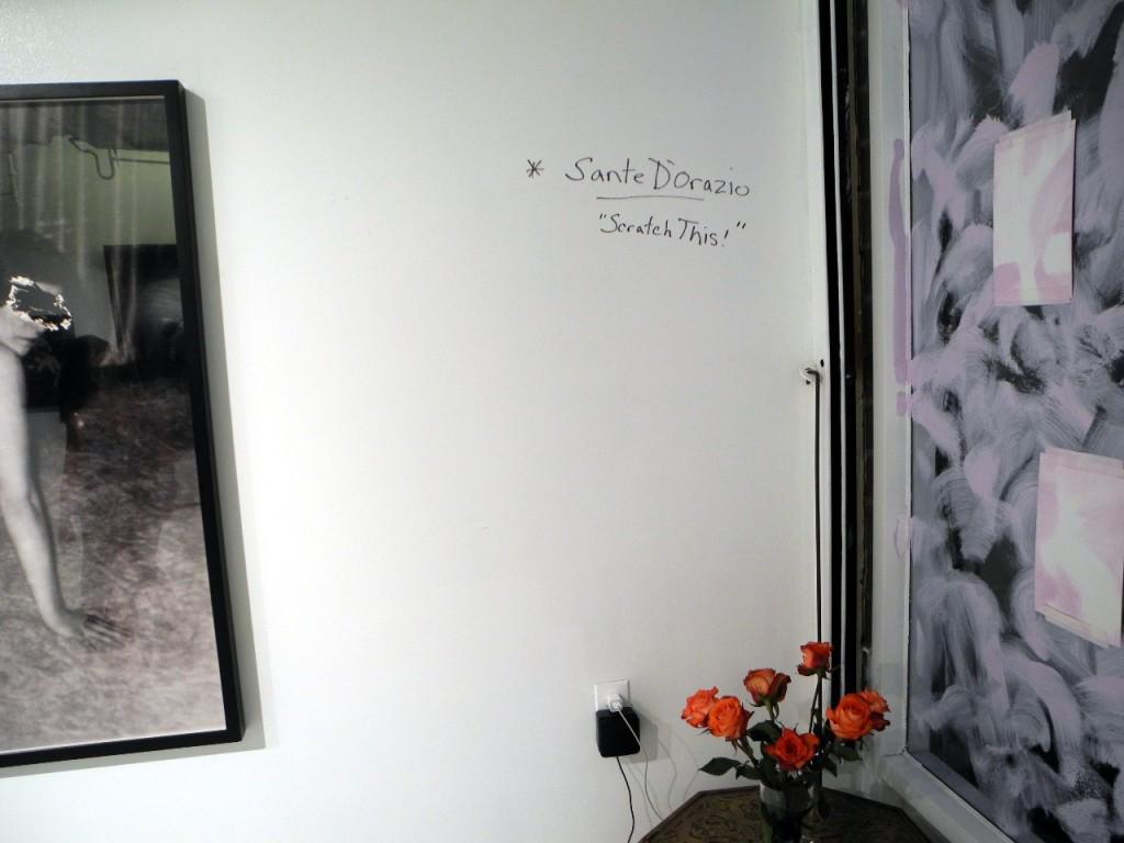 Sante D'Orazio + Scratch This + opening