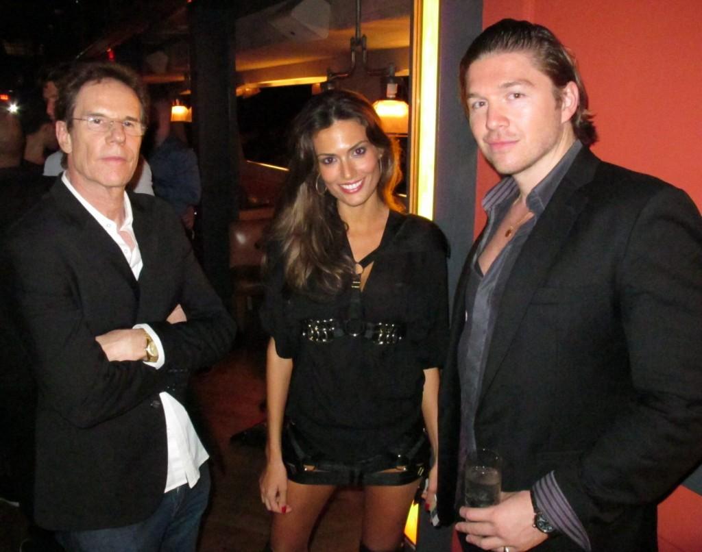 Jeff Rice, Regina Sil, Philippe-Artus J. Hoerle + Wilhelmina Fashion Week + party + La Cenita