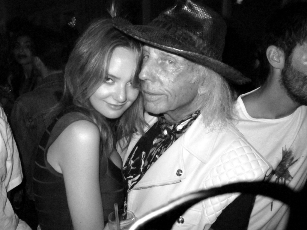 Quinn Lake + James Jimmy Goldstein, Purple Magazine + fashion week + top of the standard + boom boom room