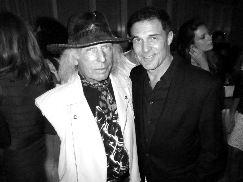 James Goldstein, Jimmy Goldstein, Andre Balazs, Purple Magazine + fashion week + top of the standard + boom boom room