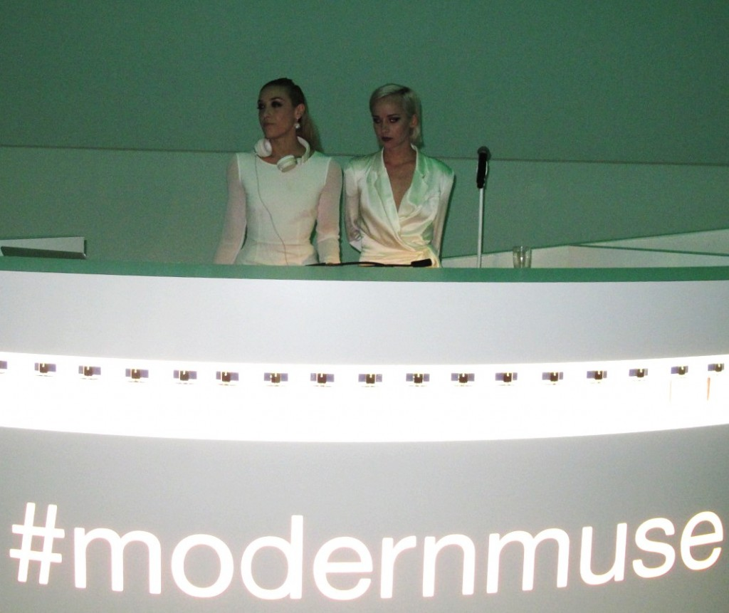 Mia Moretti, Margot, The Dolls, Estee Lauder, launch, Modern Muse, Guggenheim