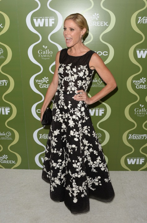 Julie Bowen Celebrates TV  Families with Gallo Family Vineyards on the Red Carpet at the Variety Women  in Film Pre-Emmy Party
