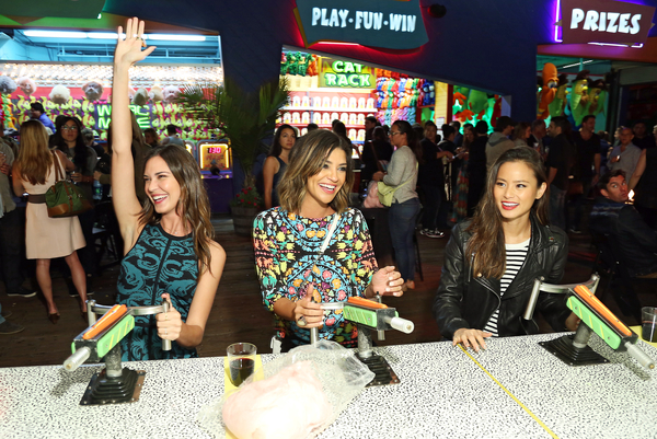 Jamie Chung, Jessica Szohr and Odette Annable Celebrate the Launch of Apothic Dark, a Limited-Edition Wine